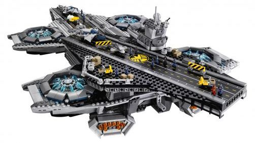 3,000 Piece LEGO 'Avengers' Helicarrier
