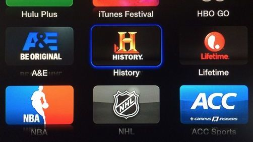 A&E, History Channel, and Lifetime Added to Apple TV