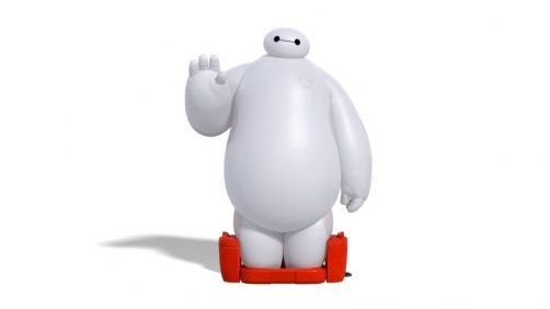 Meet Baymax From Disney's Upcoming 'Big Hero 6'