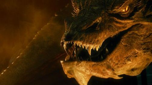 Stephen Colbert Interviews Smaug