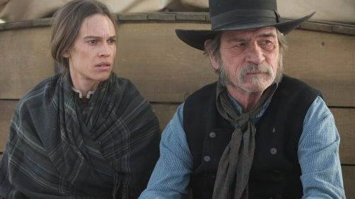Tommy Lee Jones and Hillary Swank Oscar Bid: 'The Homesman' Trailer