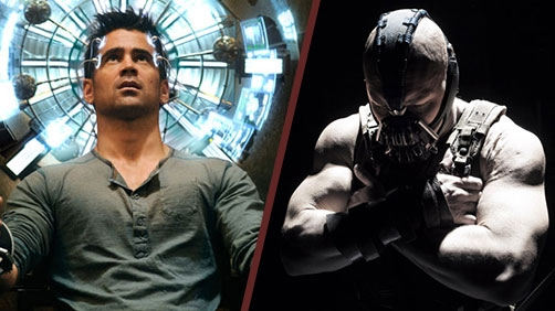 'The Dark Knight Rises' vs 'Total Recall' Box Office
