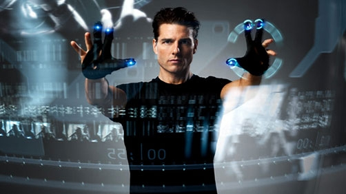 'Minority Report' UI Analysis