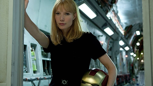 Pepper Potts in a Suit?