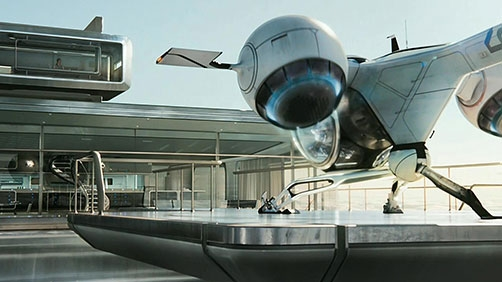 'Oblivion' Featurette: Sky Tower
