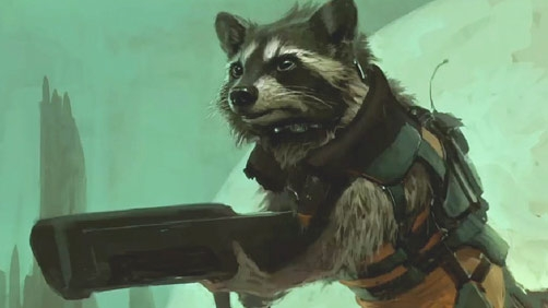 Marvel Phase Two Reveals Super Raccoon and Ant-Man