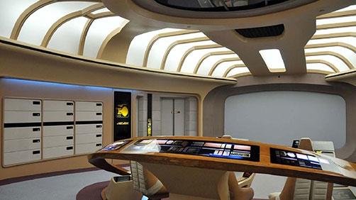 Restoring the Enterprise D Bridge Set