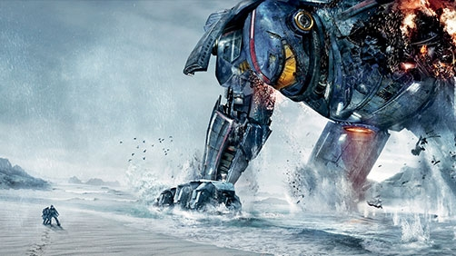 'Pacific Rim' WonderCon Trailer - Monsters and Robots!
