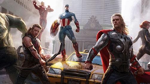 'Avengers' Blooper Reel and Extended Scene
