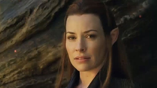 Evangeline Lilly As a Hobbit