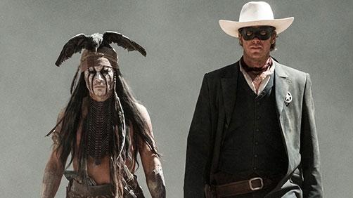 'The Lone Ranger' Featurette: 'Spirit Platform'