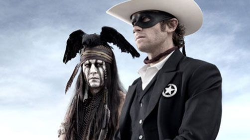 Johnny Depp Under Arrest in 'Lone Ranger' Clip
