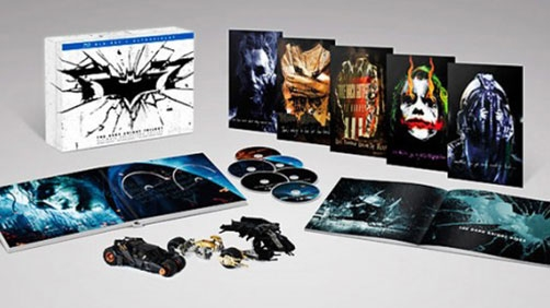 Holy Blu-ray, Batman! 'Dark Knight' Collectors Edition on Sept 24