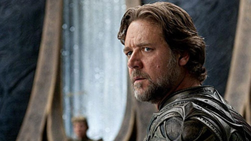 Russell Crowe Would Do 'Man of Steel' Prequel