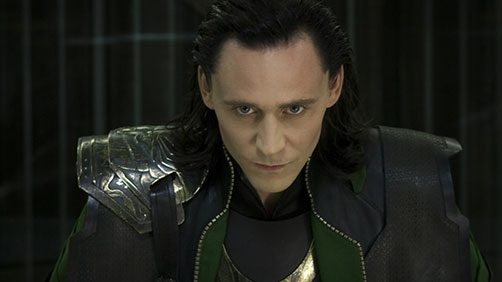 Loki Makes an Appearance at SDCC