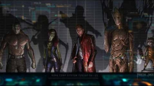 'Guardians of the Galaxy' Official Production Announcement