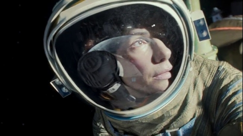 Another intense clip for 'Gravity'