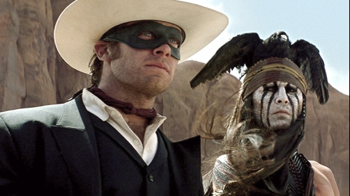 Critics Are Mean to 'The Lone Ranger'