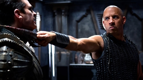 Riddick Saves a Puppy? - Clip From the Upcoming Film