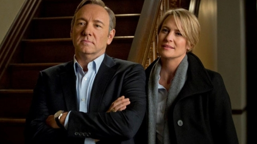 Kevin Spacey & Robin Wright Directed Episodes of 'House of Cards'