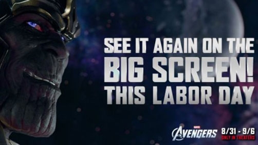 'Avengers' Back In Theaters