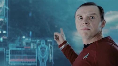 Simon Pegg Pranks the 'Into Darkness' Cast
