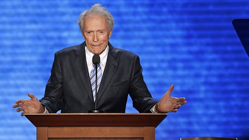 Eastwood 'Interviews Obama'