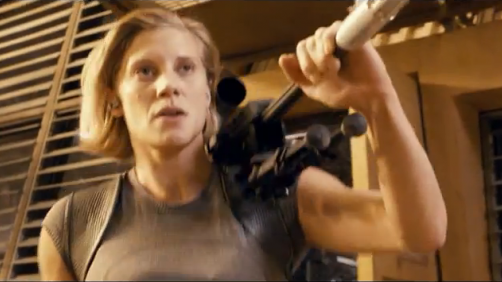 On the 'Riddick' Set with Katee Sackhoff
