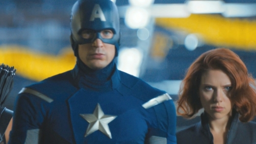 Black Widow and Captain America?