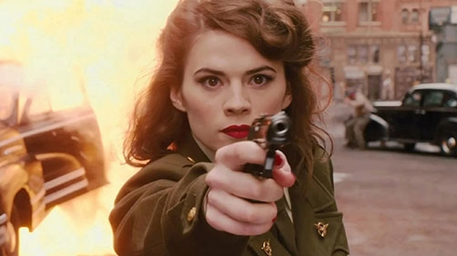 Hayley Atwell in Captain America 2?