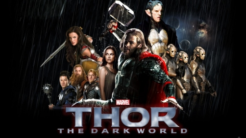 'Thor: The Dark World' Clips Featuring Natalie Portman and Chris Hemsworth