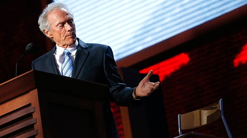 "Clint Eastwood ""made it up on the fly"""