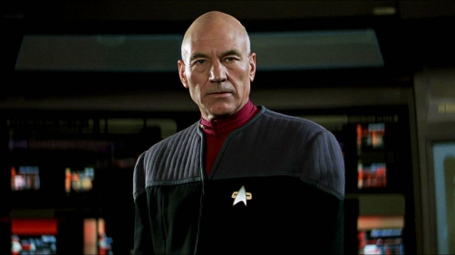 Make it so! Get into the Christmas Spirit with Captain Picard!