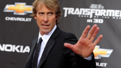 Michael Bay Has a Bit of Stage Fright, Walks Off Stage at CES