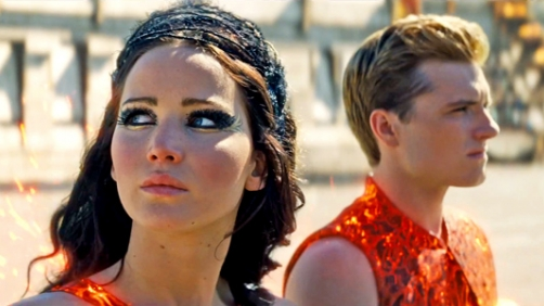 'Catching Fire' Topples 'Iron Man 3'