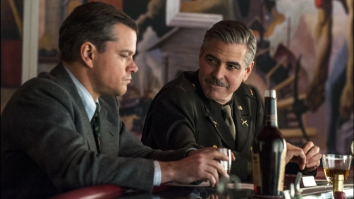 First Clip From Upcoming 'The Monuments Men'
