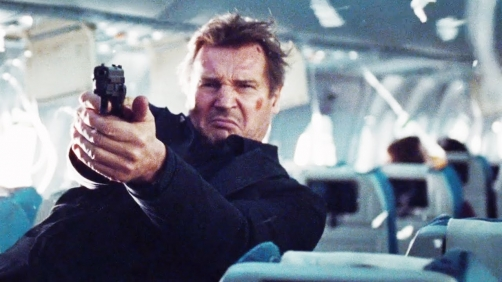 4 Clips from 'Non-Stop' Starring Liam Neeson