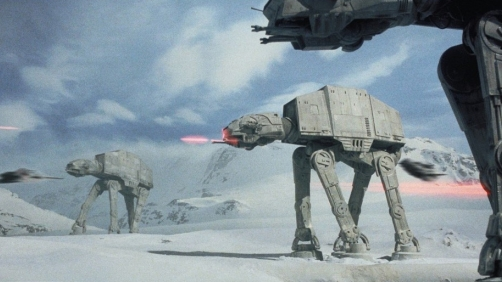 AT-AT Walkers Attack at the Olympics