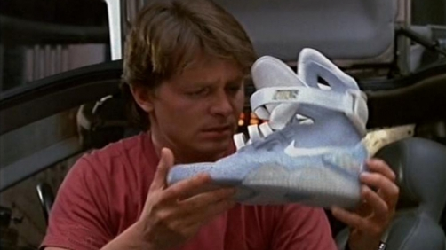 'Back to the Future' Power Laces Coming Right On Time