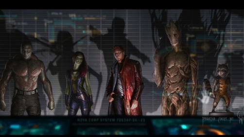 Meet The Characters of 'Guardians of the Galaxy'