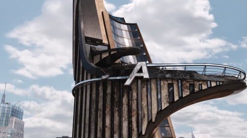 Avengers Tower Makes Cameo in 'Captain America: The Winter Soldier'