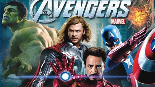 GIVEAWAY! 'Avengers' on Blu-ray