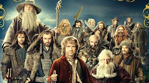 New 'The Hobbit' Poster Featuring Dwarves. Lots of Dwarves