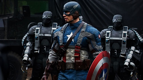 'Captain America: The Winter Soldier' Will Film in Cleveland
