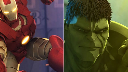 'Heroes United' Animated Iron Man and Hulk