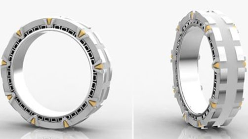 'Stargate' Wedding Ring - Revel in the Geekery