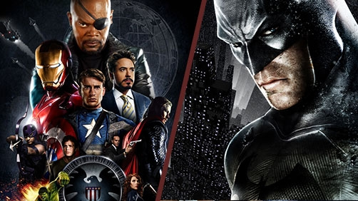 'The Dark Knight' vs. 'The Avengers'