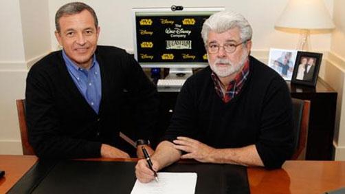 BREAKING! Disney Acquires Lucas Film