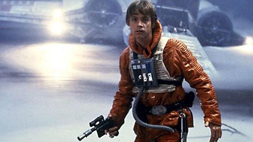 An Older Luke Skywalker