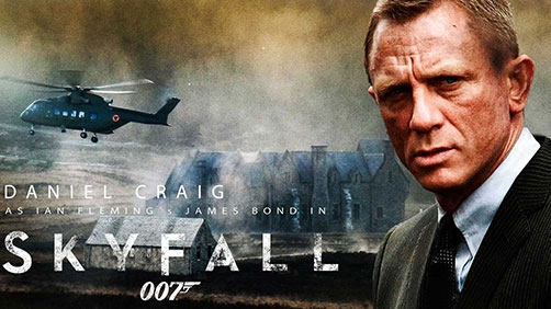 'Skyfall' Opening Title Sequence